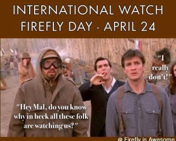 International Watch Firefly Day
