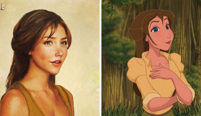 12 Disney Princesses With Realistic Makeovers