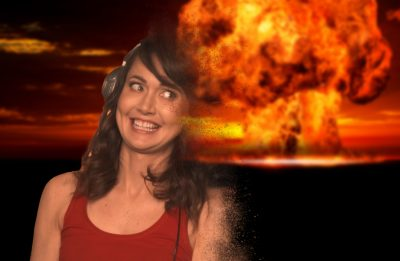 Thanos Snapped his Fingers and got Jessica Chobot