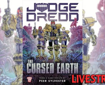 Judge Dredd the Cursed Earth: An Expedition Game – Solo Playthrough