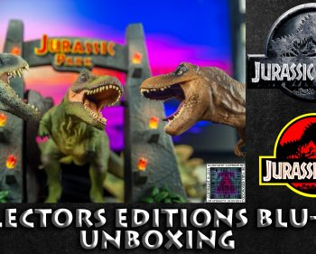 Jurassic World Blu-ray Collector's Editions