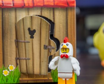 LEGO Chicken Man Mini Figure and Coop 6142167