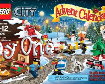 LEGO City Advent Calendar Day 01 – 60024