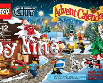 LEGO City Advent Calendar Day 09 – 60024