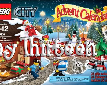 LEGO City Advent Calendar Day 13 – 60024