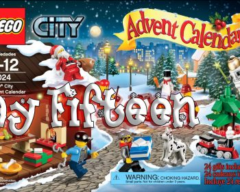 LEGO City Advent Calendar Day 15 – 60024