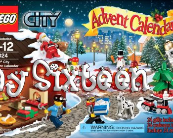 LEGO City Advent Calendar Day 16 – 60024