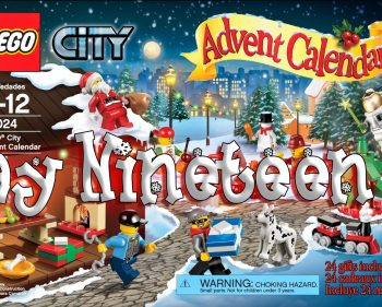 LEGO City Advent Calendar Day 19 – 60024