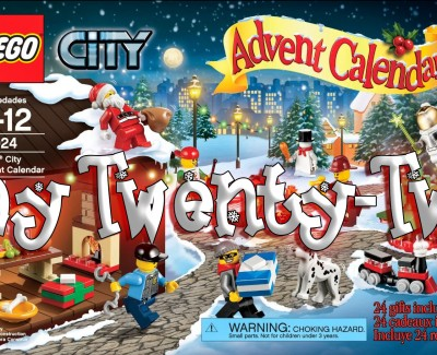 LEGO City Advent Calendar Day 22 – 60024