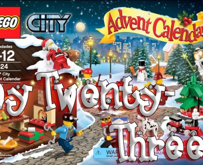 LEGO City Advent Calendar Day 23 – 60024