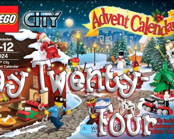 LEGO City Advent Calendar Day 24 – 60024