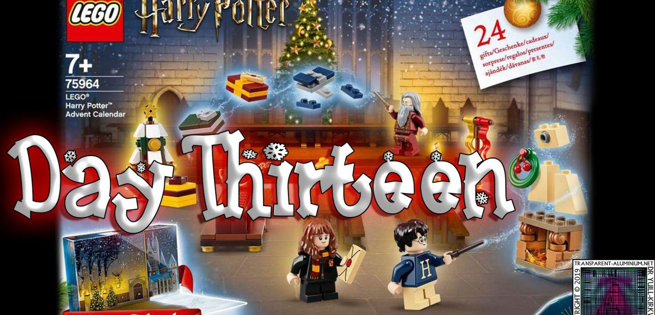 LEGO Harry Potter Advent Calendar Day 13 – 75946