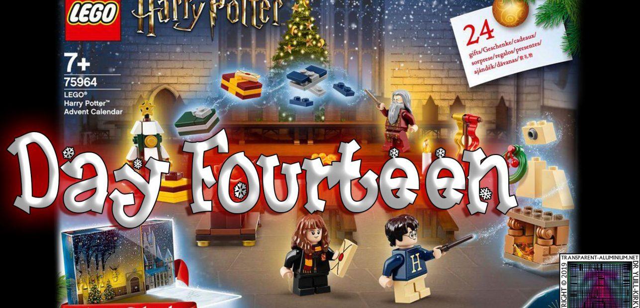 LEGO Harry Potter Advent Calendar Day 14 – 75946