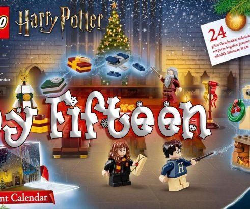 LEGO Harry Potter Advent Calendar Day 15 – 75946