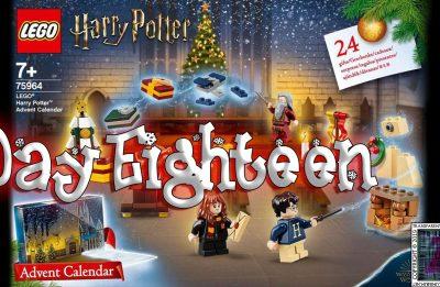 LEGO Harry Potter Advent Calendar Day 18 – 75946