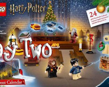 LEGO Harry Potter Advent Calendar Day 2 – 75946