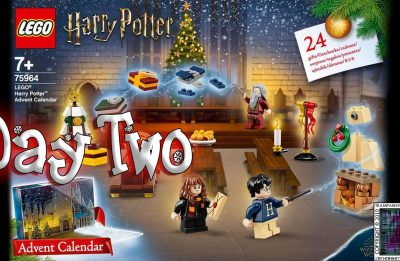 LEGO Harry Potter Advent Calendar Day 2 – 75946