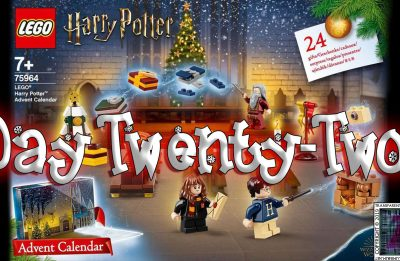 LEGO Harry Potter Advent Calendar Day 22 – 75946