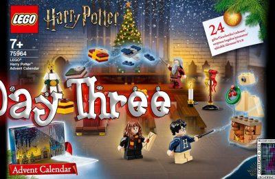 LEGO Harry Potter Advent Calendar Day 3 – 75946