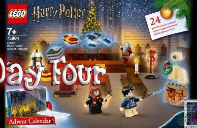 LEGO Harry Potter Advent Calendar Day 4 – 75946