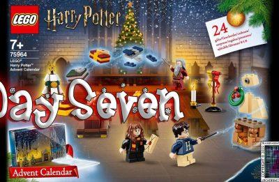 LEGO Harry Potter Advent Calendar Day 7 – 75946