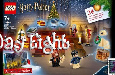 LEGO Harry Potter Advent Calendar Day 8 – 75946