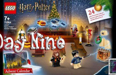 LEGO Harry Potter Advent Calendar Day 9 – 75946