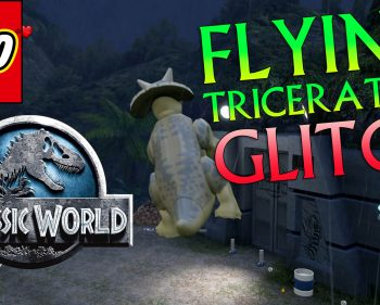 LEGO Jurassic World: Flying Triceratops Glitch