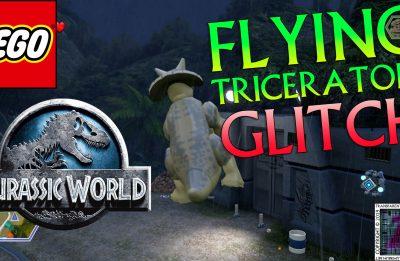 LEGO Jurassic World: Flying Triceratops Glitch