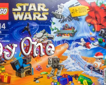 LEGO Star Wars Advent Calendar Day 1 -75184