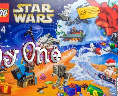 LEGO Star Wars Advent Calendar Day 1 -75184