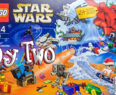 LEGO Star Wars Advent Calendar Day 2 -75184