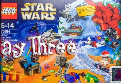 LEGO Star Wars Advent Calendar Day 3 -75184