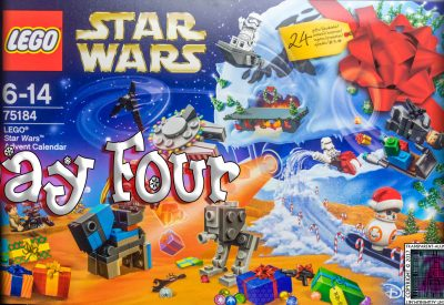 LEGO Star Wars Advent Calendar Day 4 -75184