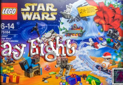 LEGO Star Wars Advent Calendar Day 8 -75184