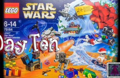 LEGO Star Wars Advent Calendar Day 10 -75184