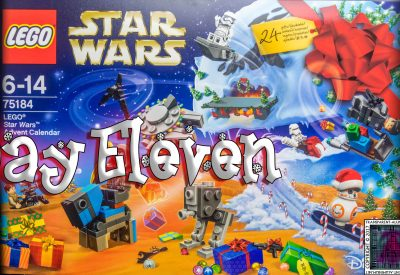 LEGO Star Wars Advent Calendar Day 11 -75184