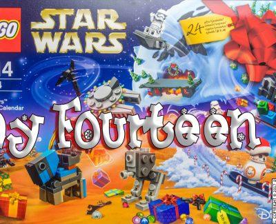 LEGO Star Wars Advent Calendar Day 14 -75184