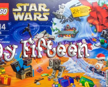LEGO Star Wars Advent Calendar Day 15 -75184