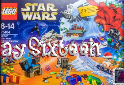 LEGO Star Wars Advent Calendar Day 16 -75184