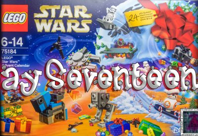 LEGO Star Wars Advent Calendar Day 17 -75184