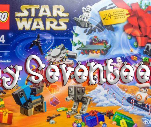 LEGO Star Wars Advent Calendar Day 17 -75184