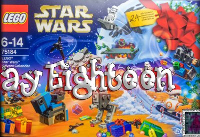 LEGO Star Wars Advent Calendar Day 18 -75184