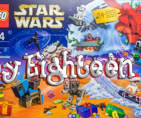 LEGO Star Wars Advent Calendar Day 18 -75184