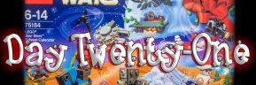 LEGO Star Wars Advent Calendar Day 21 -75184