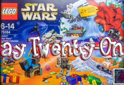 LEGO Star Wars Advent Calendar Day 21 -75184