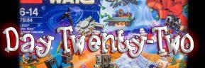 LEGO Star Wars Advent Calendar Day 22 -75184
