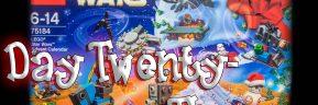 LEGO Star Wars Advent Calendar Day 23 -75184
