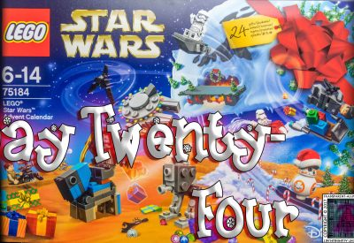 LEGO Star Wars Advent Calendar Day 24 -75184