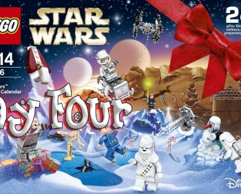 LEGO Star Wars Advent Calendar Day 4 -75146